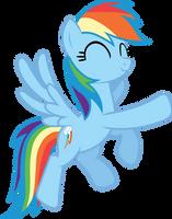 Rainbow Dash - Dance! by BobtheLurker
