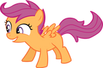 Scootaloo - excited