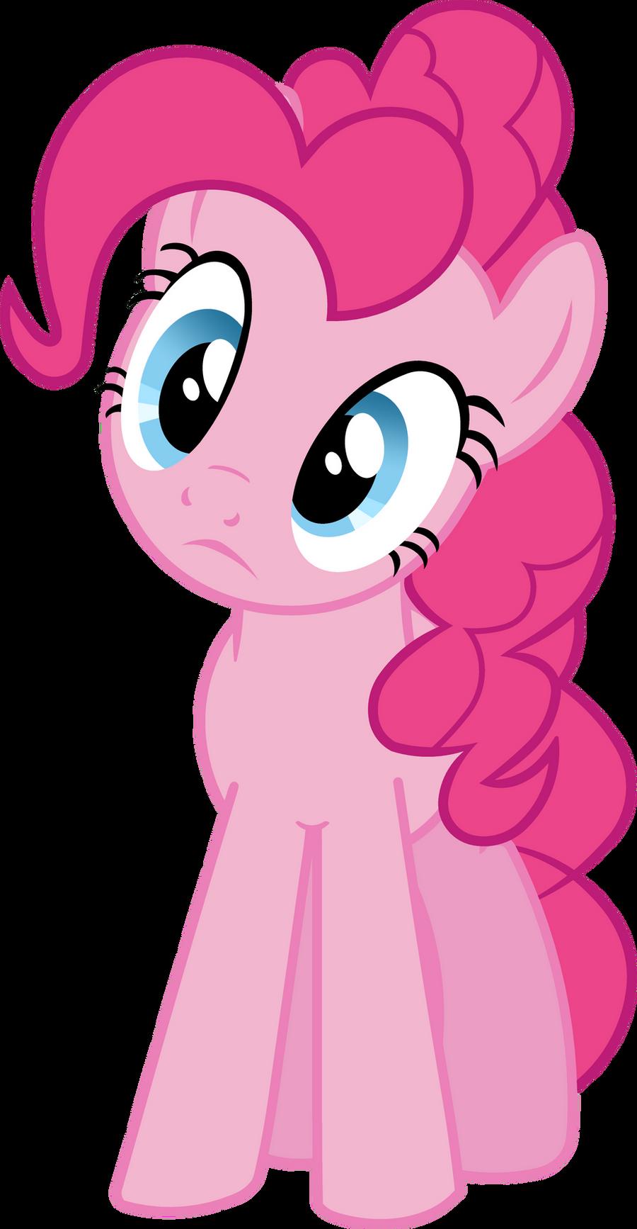Pinkie pie head tilted perplexity by bobthelurker