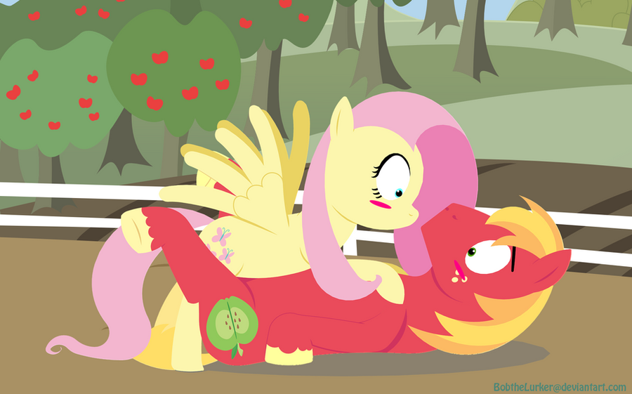 Fluttershy, What are you doin'? by BobtheLurker