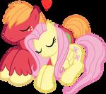Fluttermac - sleepy snuggle