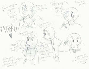 (Ninjago) Morro sketchys