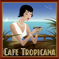 Cafe Tropicana by ekster