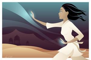 Desert Wind by ekster
