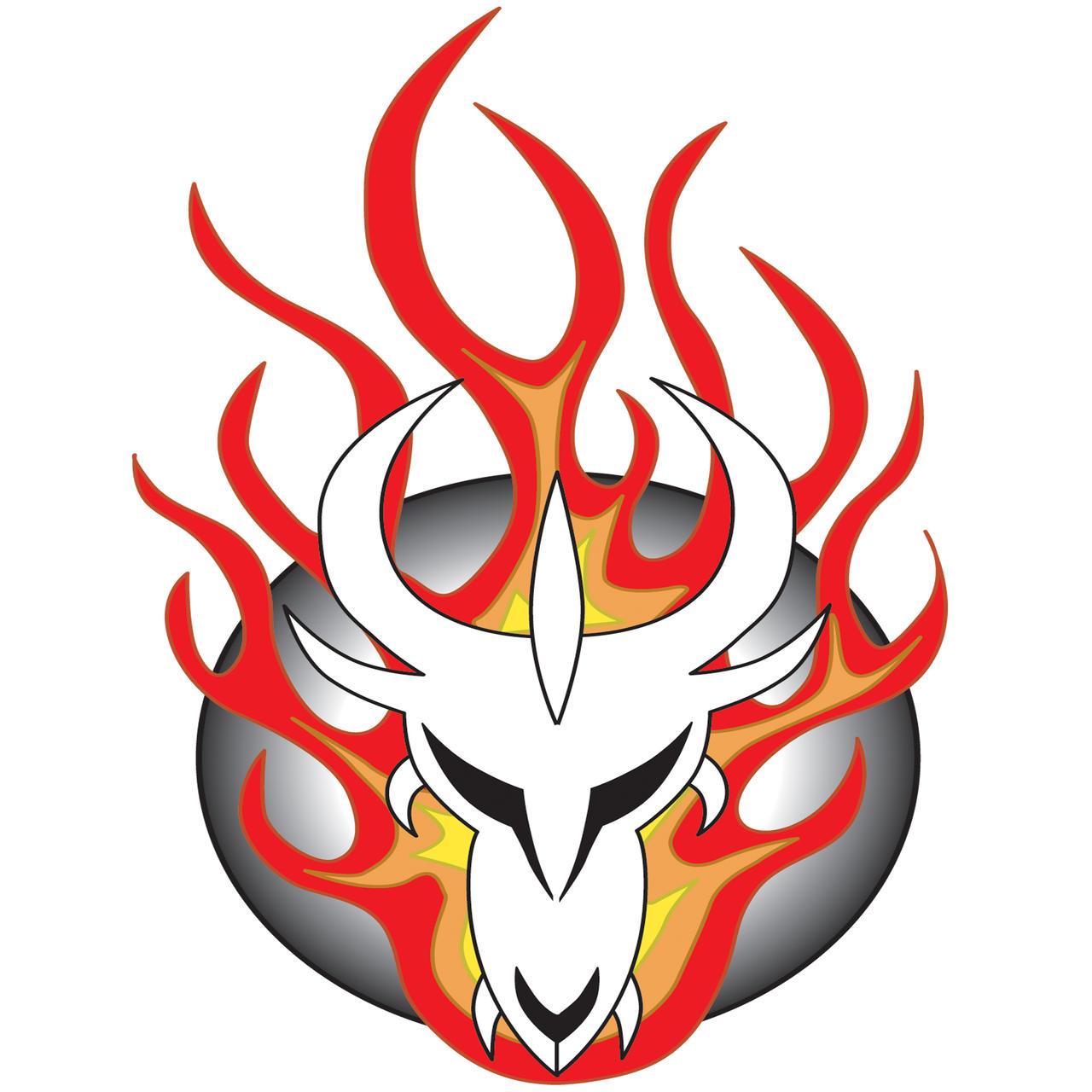 Fire Dragon Logo by HawksComm