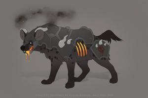 Iron Belly Hyena Mount Concept by Salt-Dog
