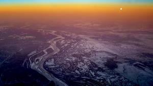 N44w Frozen land