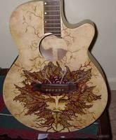 Greenman Guitar by angelsg33