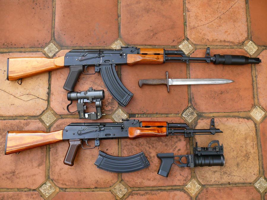 Modernized AK Variant AKMs by ShadowSpetsnaz