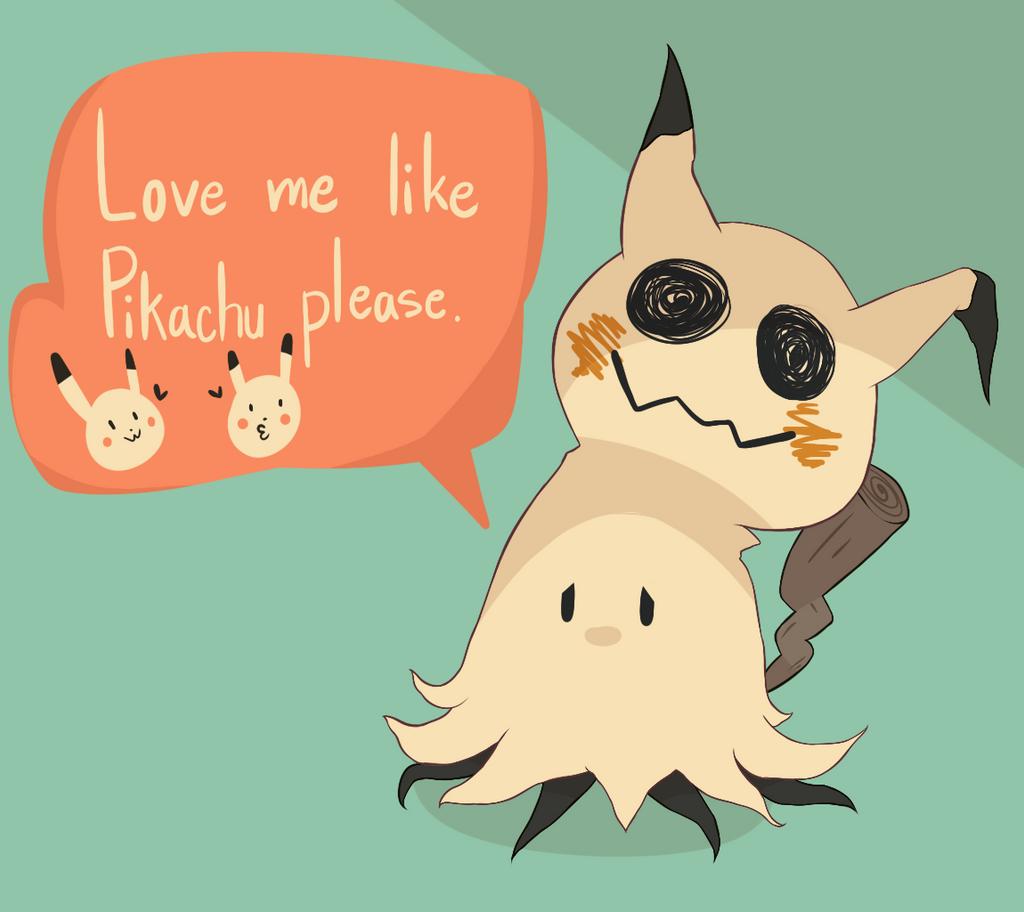 Mimikyu Pokemon Fan Art Images
