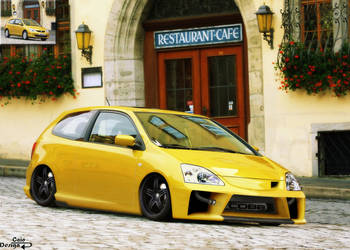 Honda Civic Si by Caioul