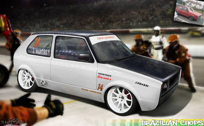 Vw Golf MK1 - Pit Stop by Caioul