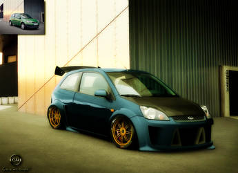 Ford Fiesta by Caioul