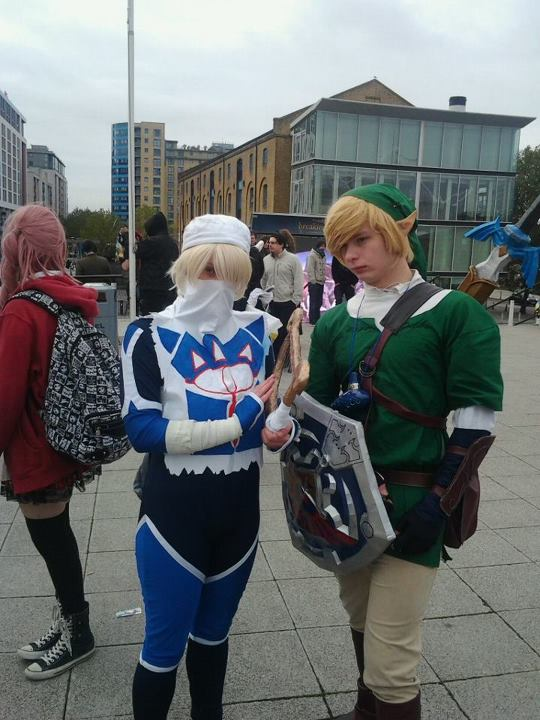 Sheik and Link by dragonloveruk