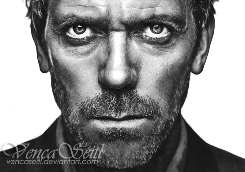 Hugh Laurie by VencaSeitl
