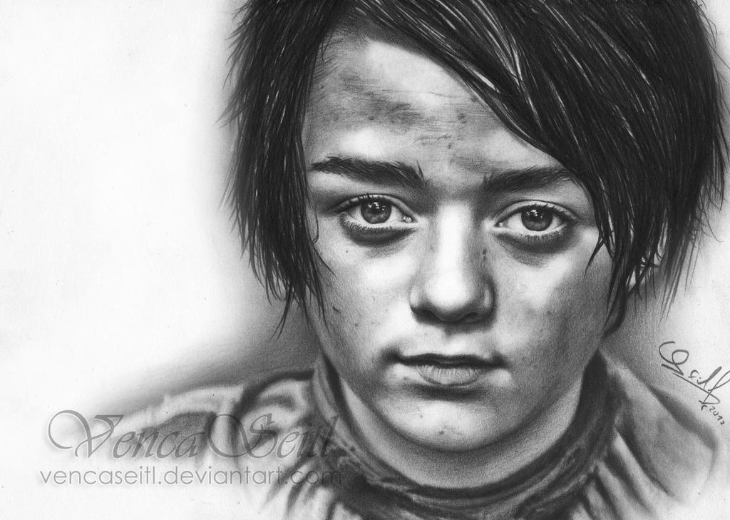 Arya Stark by VencaSeitl