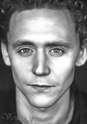 Tom Hiddleston by VencaSeitl