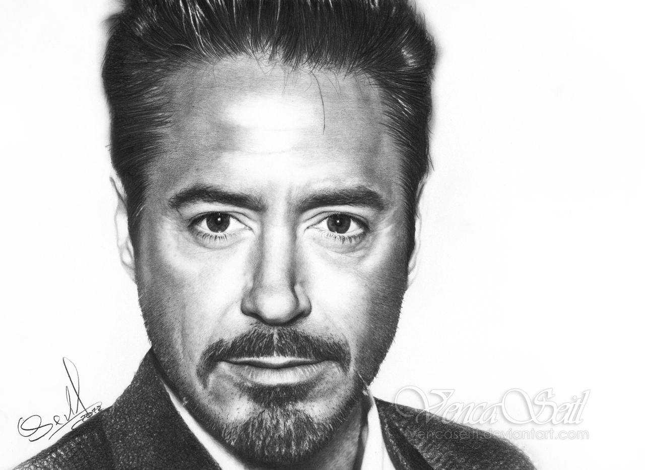 Robert Downey Jr. by VencaSeitl