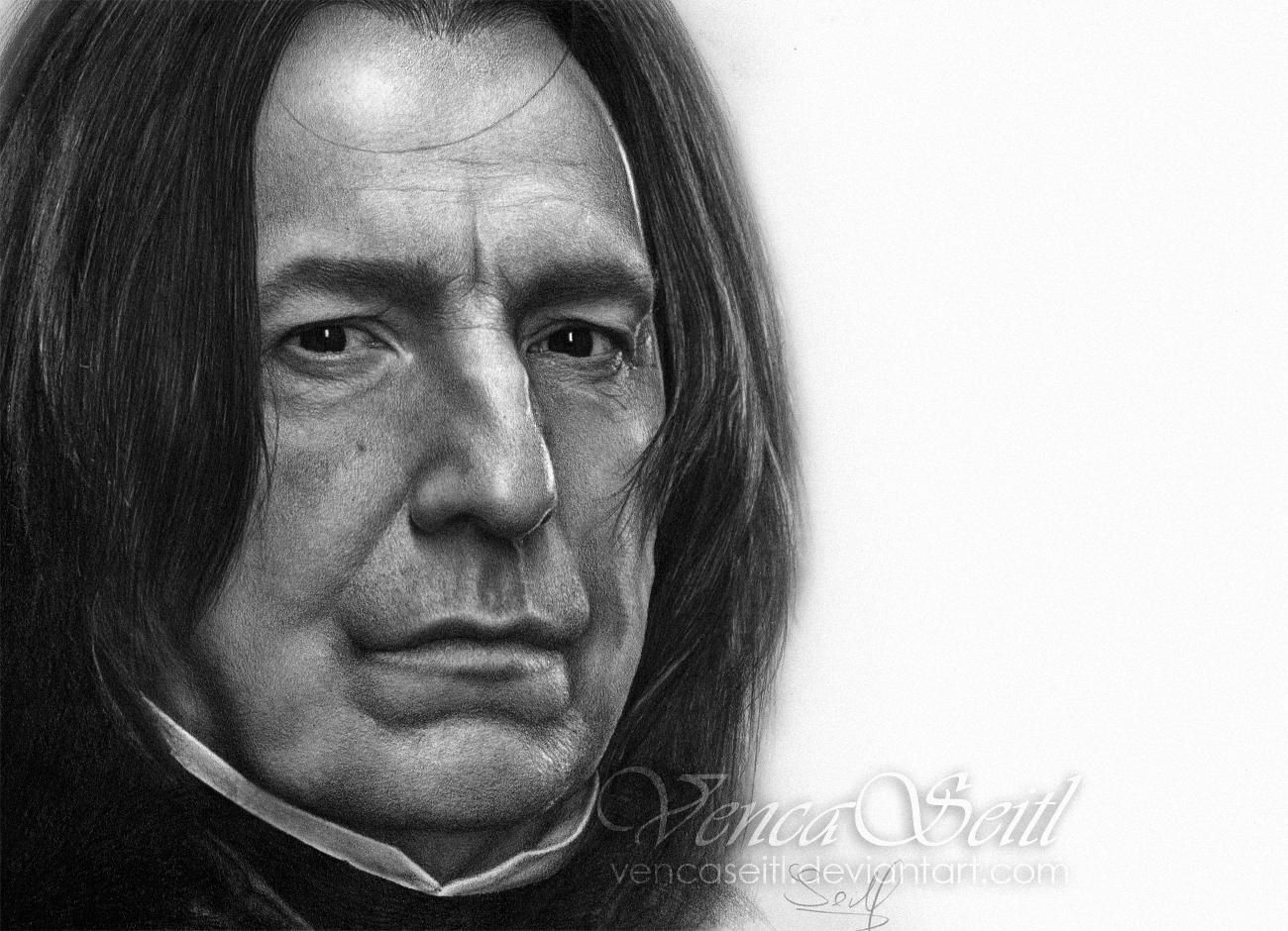 Alan 'Severus Snape' Rickman 2 by VencaSeitl