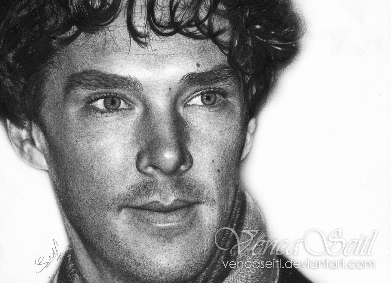 Benedict Cumberbatch by VencaSeitl