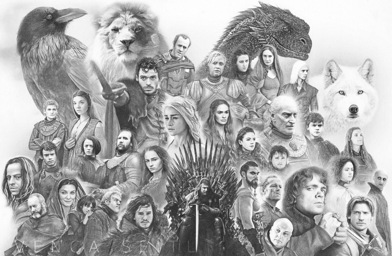 Game of Thrones by VencaSeitl