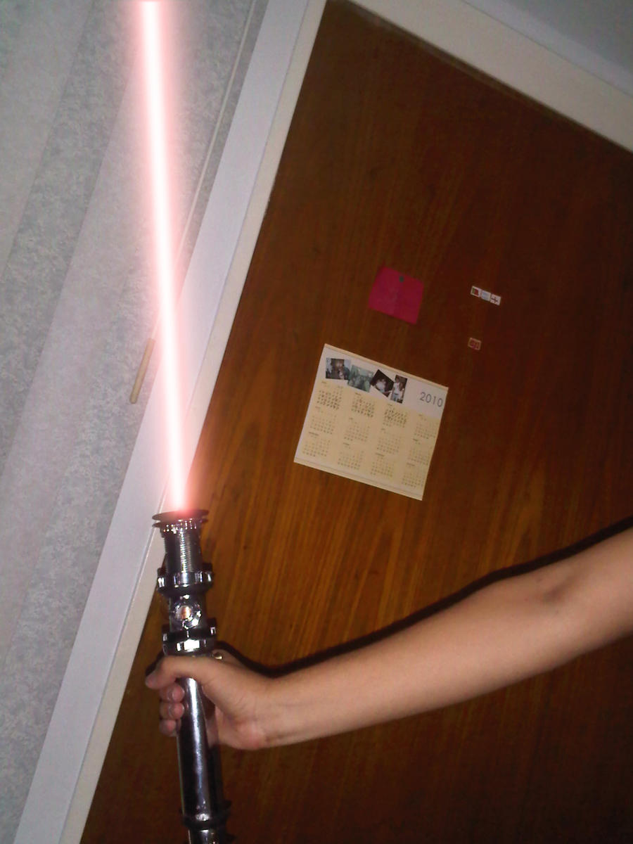 My HandMade Lightsaber 2 by oscarmiranda90