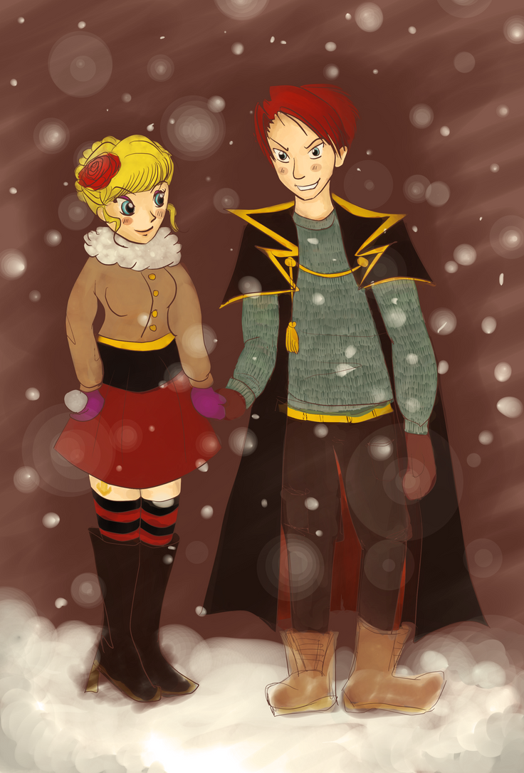 When they cry Secret Santa 2015 by sii-kei