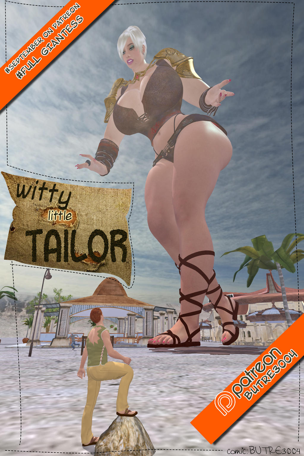 September Giantess Tier 01 by butre3004