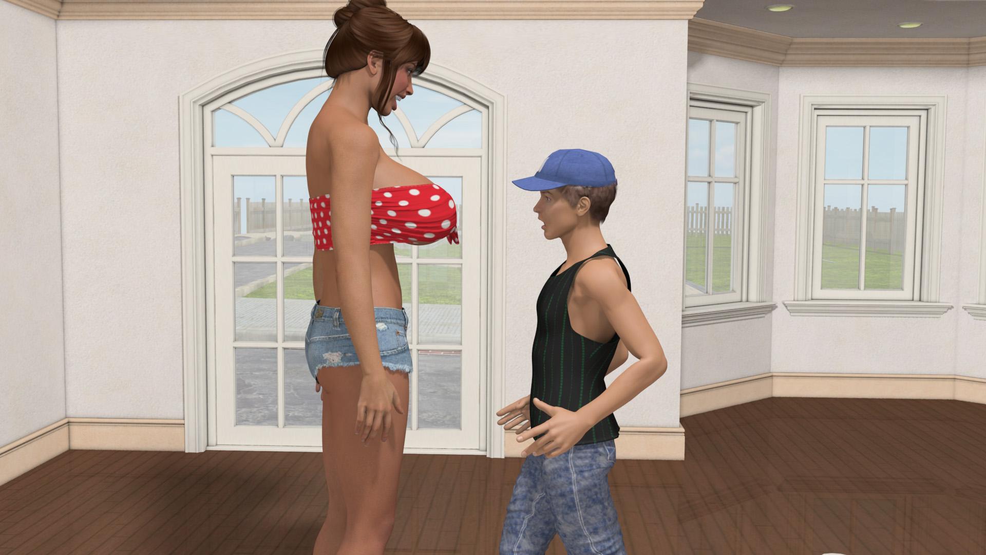 Mini giantess 3d video sex pic