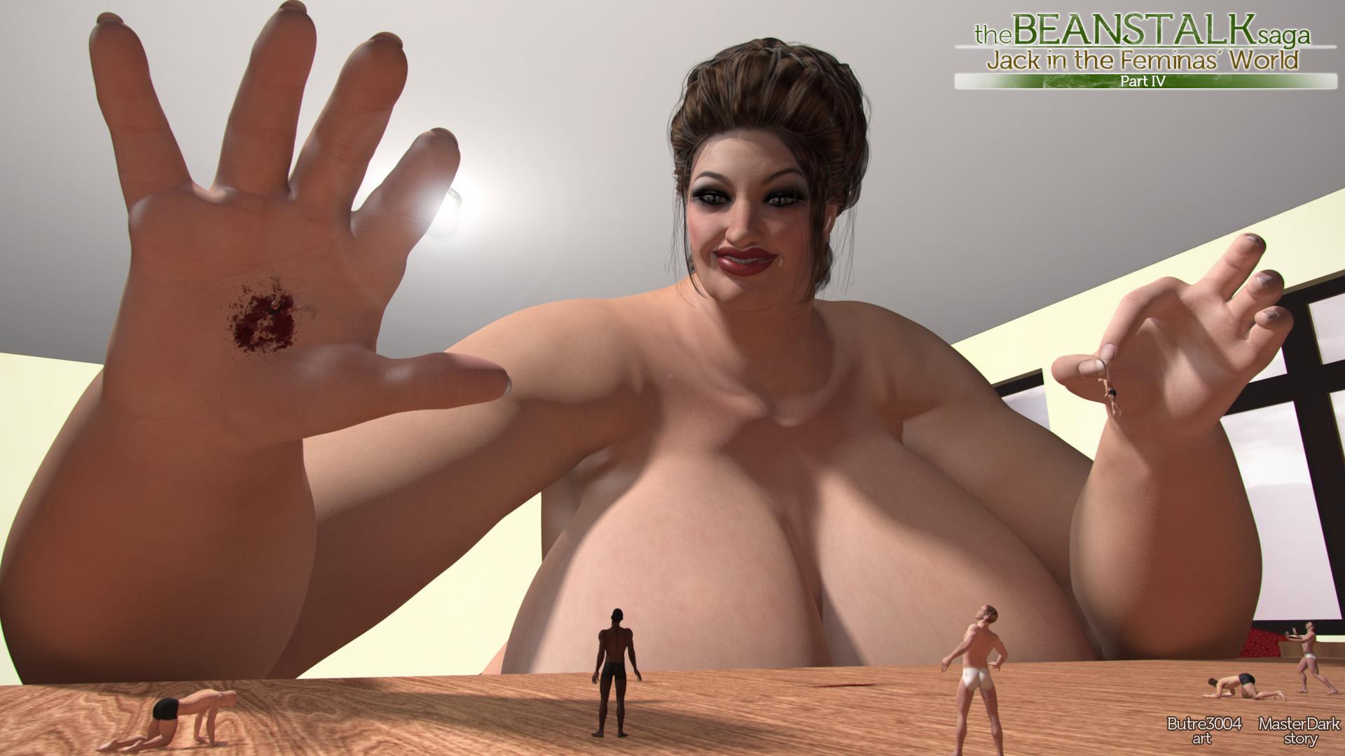 The Beanstalks saga- part 4 by butre3004