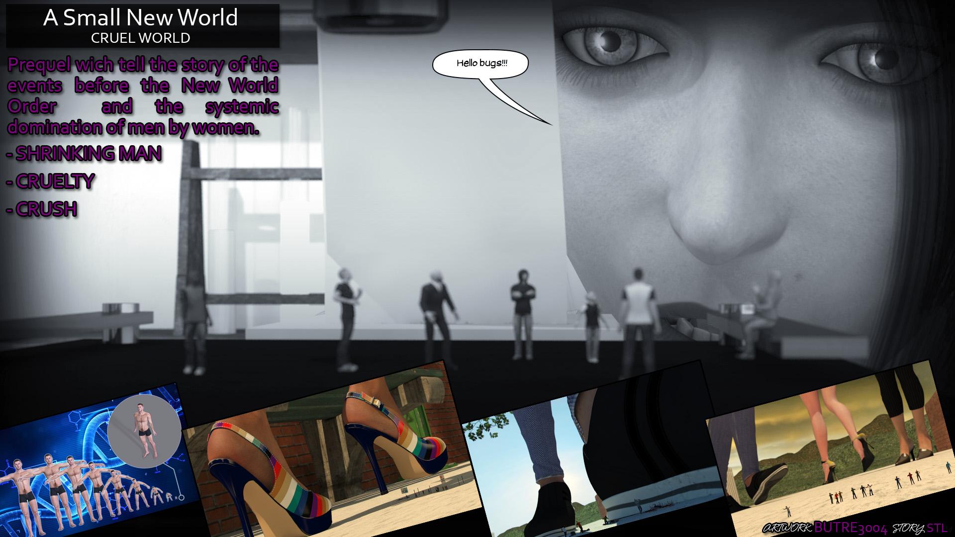 Promo Asnw- Cruel World by butre3004