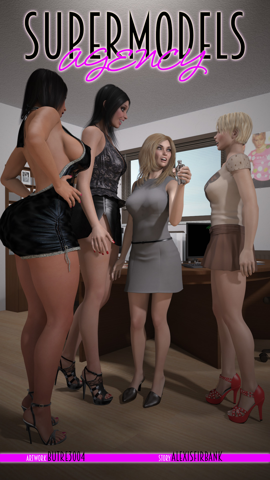 Supermodels Agency- part I available on Gumroad by butre3004