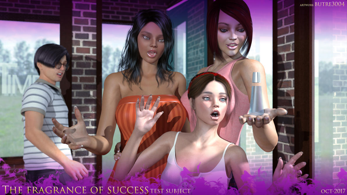 The Fragrance of Success- Test Subject by butre3004