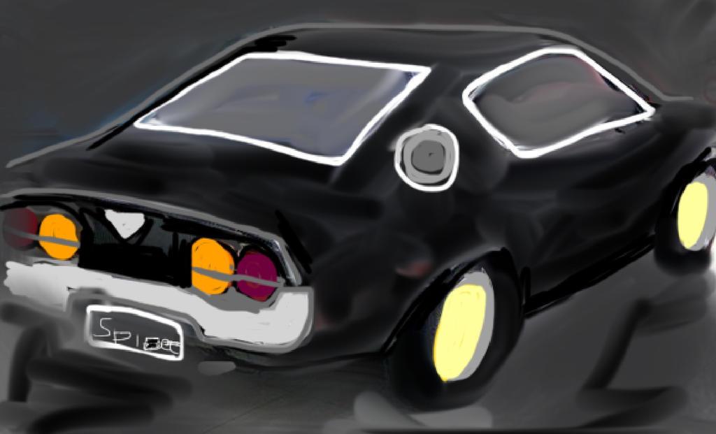 Mazda RX4 by Spideecartoon