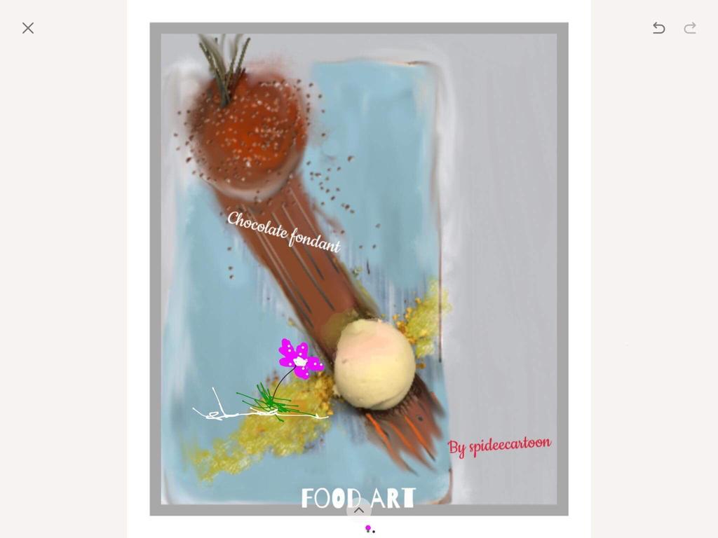 Ze Chocolate fondant  by Spideecartoon