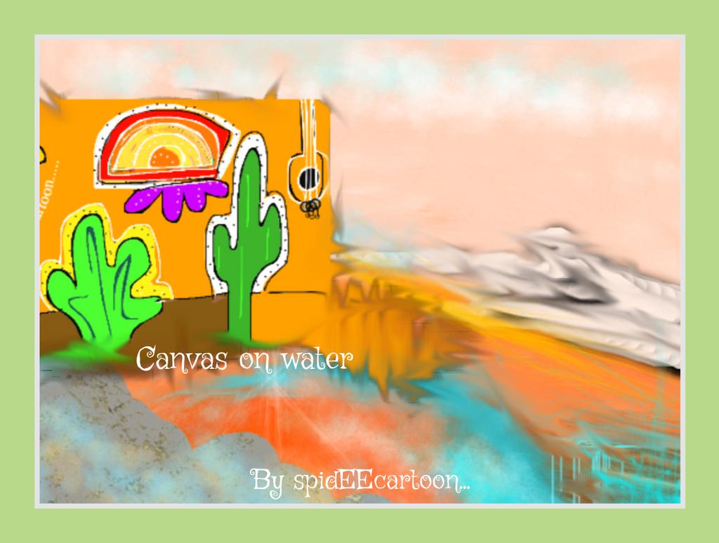 Flowing by Spideecartoon