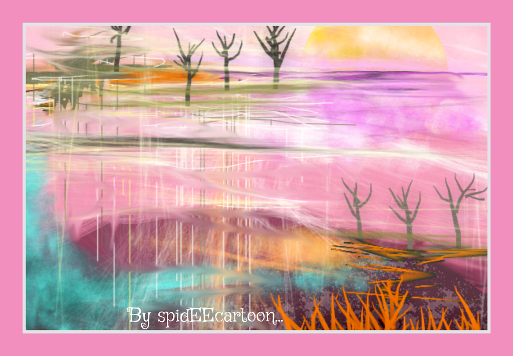 Reflecting  by Spideecartoon