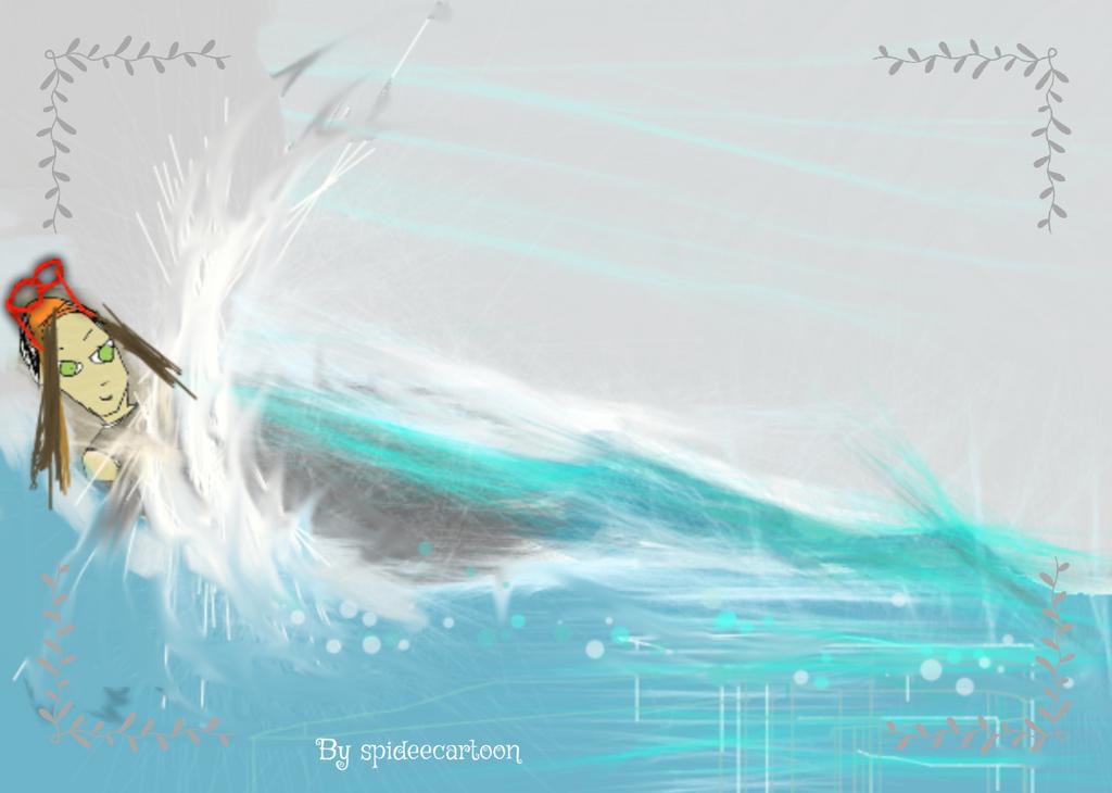 Gliding  by Spideecartoon