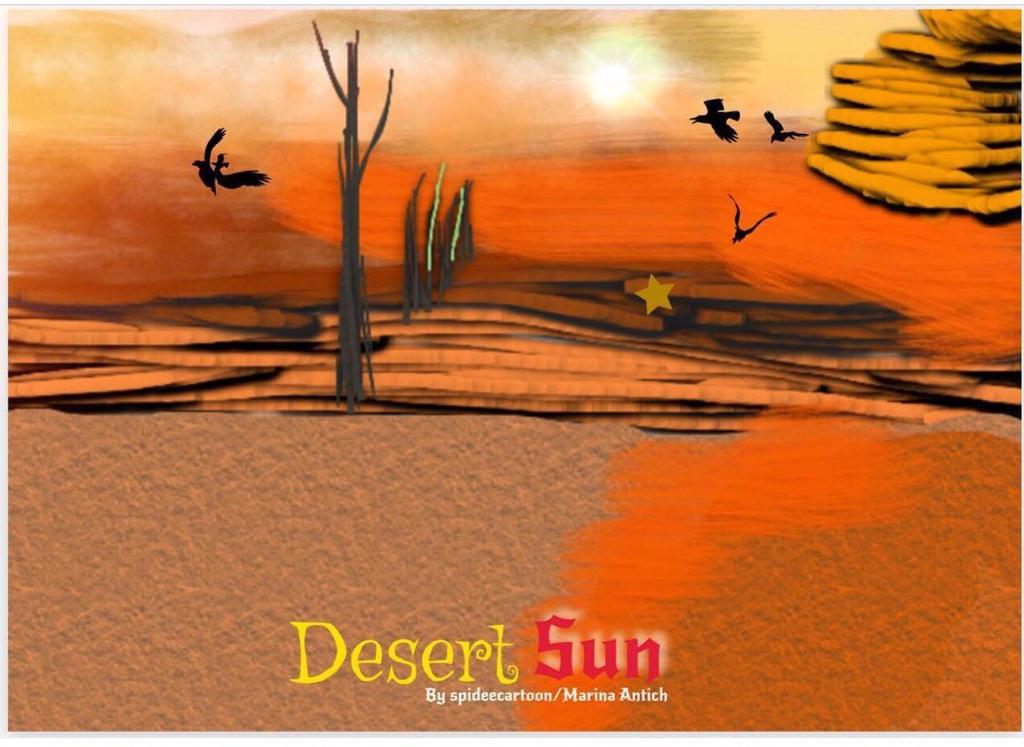 Desert by Spideecartoon