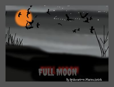 Spooky night by Spideecartoon