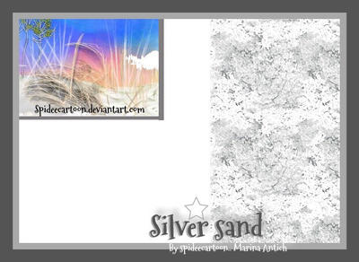 Silver sand by Spideecartoon