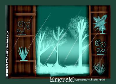 Emerald by Spideecartoon