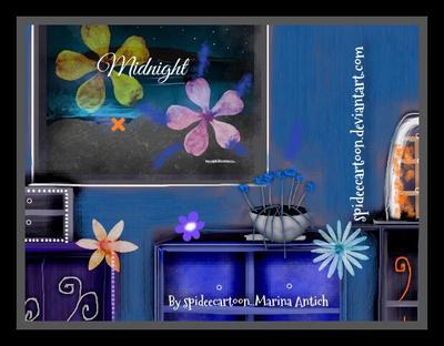 Midnight  by Spideecartoon