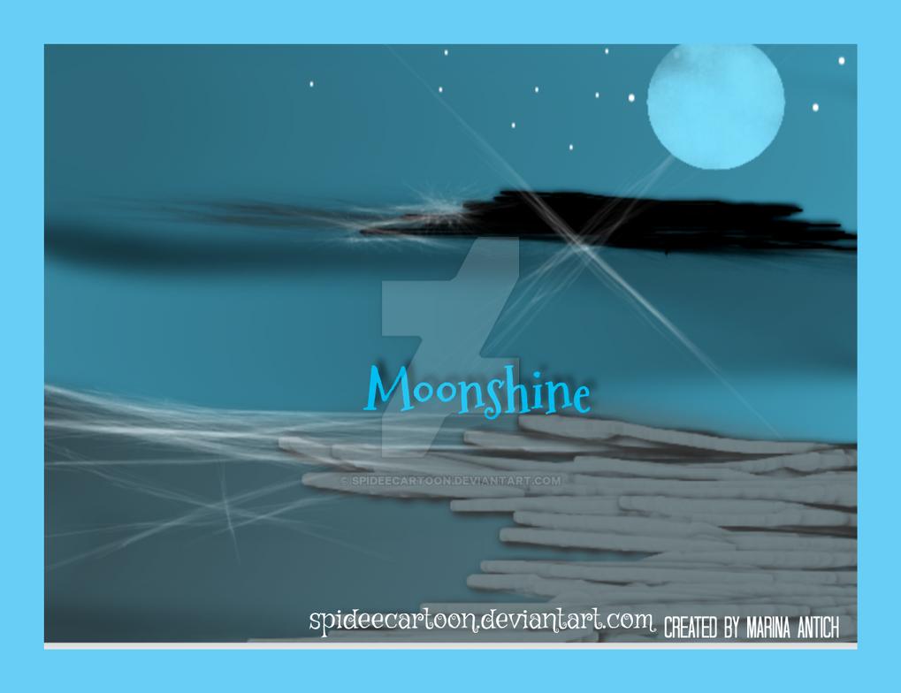 Moonshine by Spideecartoon