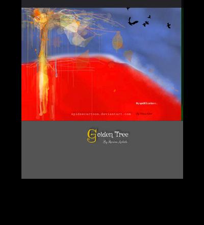 Golden tree by Spideecartoon