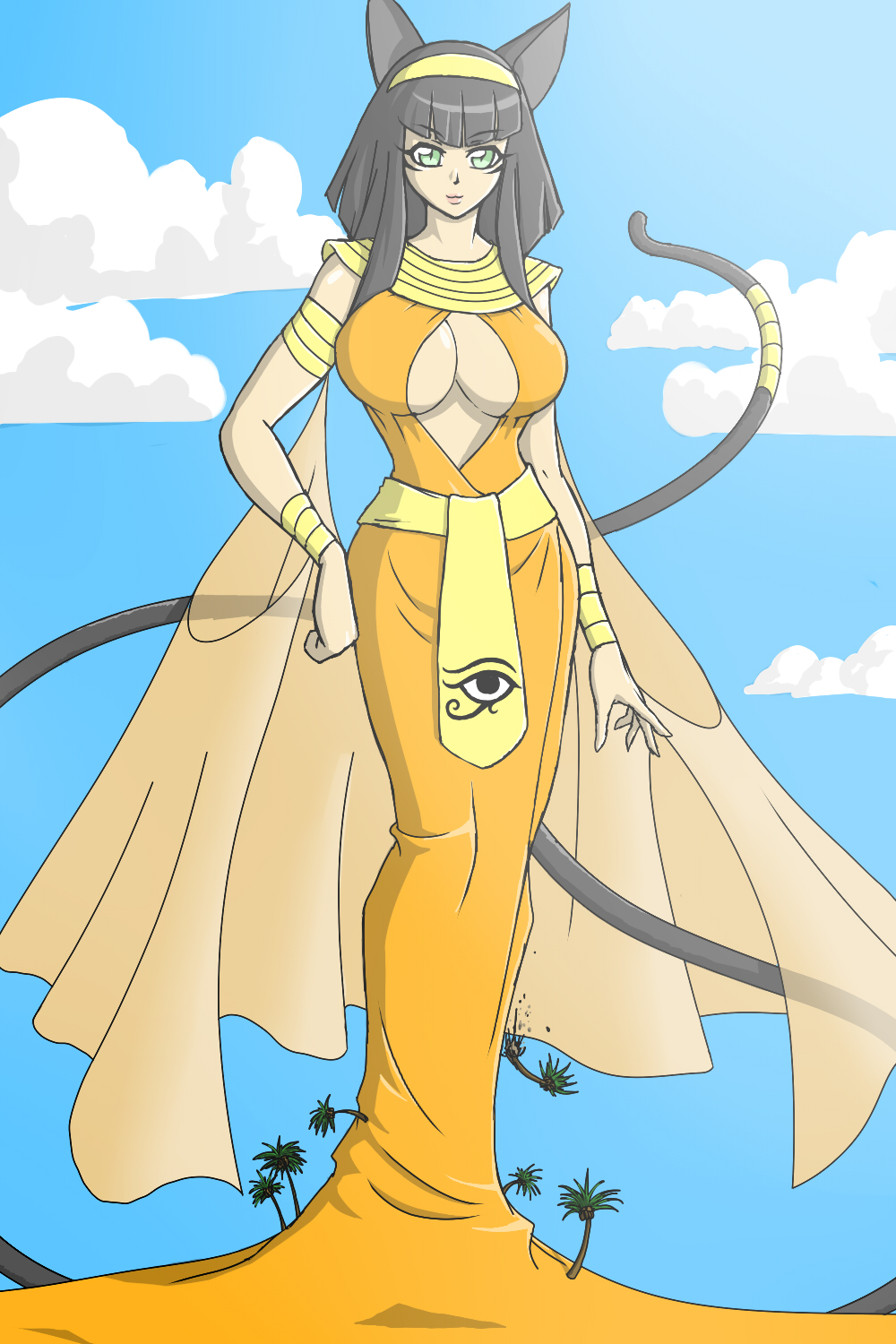 princess Lena, pharaoh empress by Lily-of-Darkness