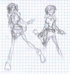 Laaya of Taren 2nd sketch 2007