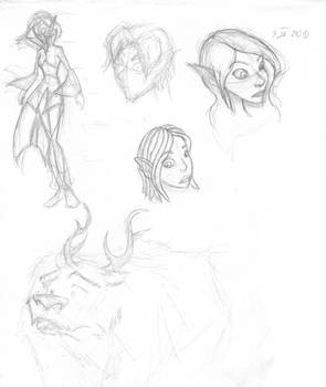 Some random Taren sketches