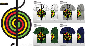 Reggeae T-Shirt design