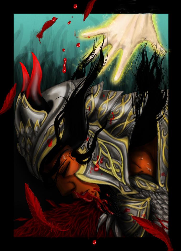 Fallen by kitsunefire7